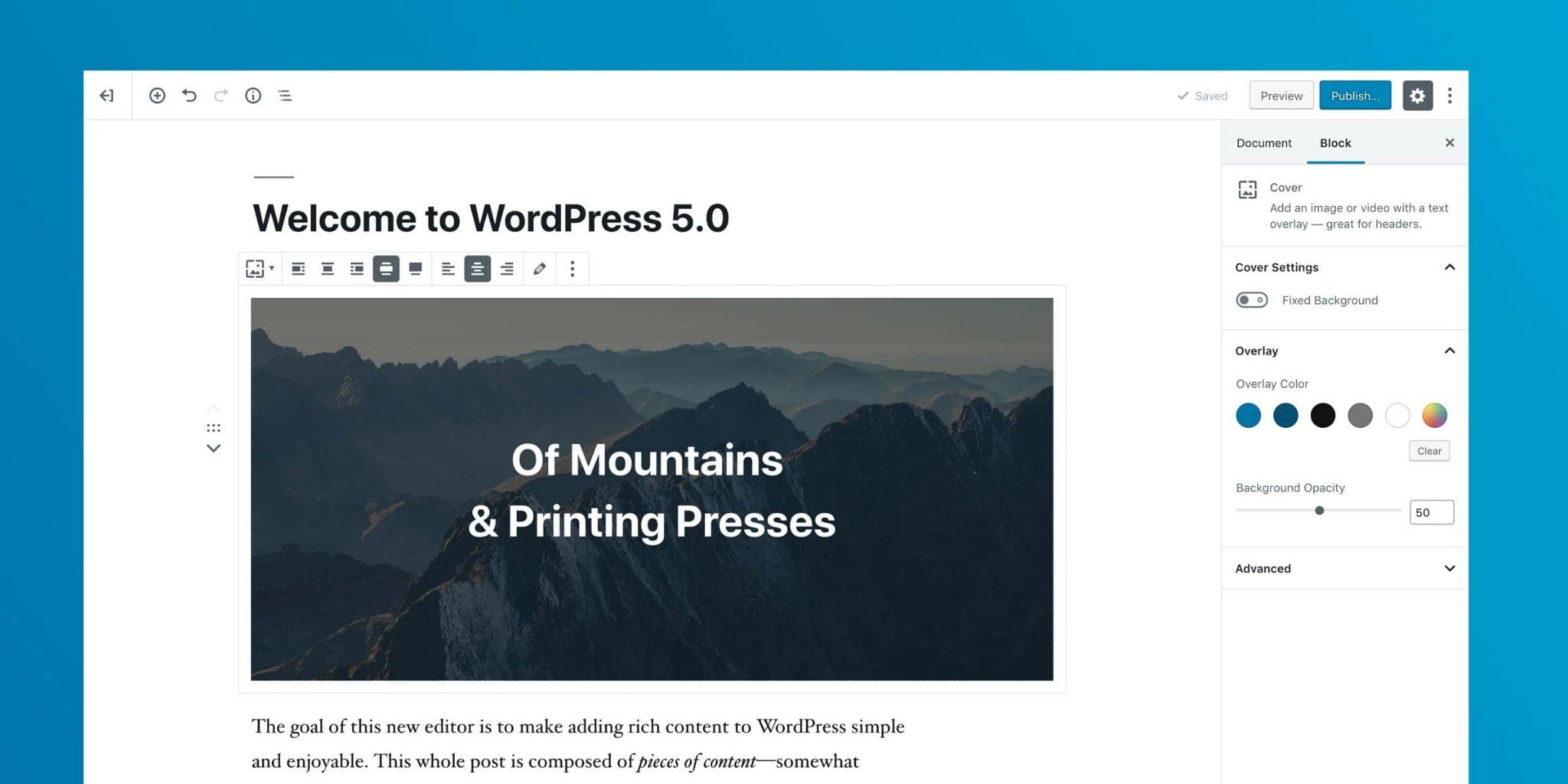 一句代码禁用WordPress 5.0 Gutenberg(古腾堡) 编辑器